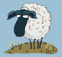 An Indifferent Sheep by YoPedro
