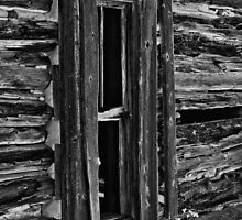 Window On Another Time In Black And White by Gary Benson