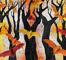 Bonfire Bats by historicnature