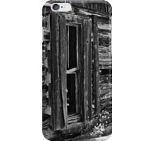 Window On Another Time In Black And White iPhone Case/Skin