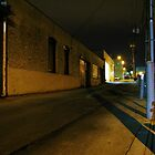 Alley, Night by Laurie Allee