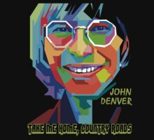 John Denver ~ Pop Art by vdezine