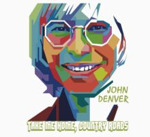 John Denver ~ Pop Art Kids Clothes