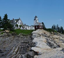 Pemaquid Point Light House by Gary Benson