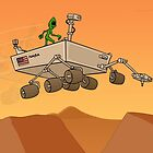 Alien Life on Mars by Thingsesque