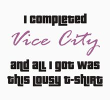 GTA: Vice City 100% Kids Clothes