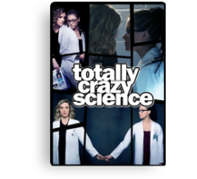 Orphan Black - Totally Crazy Science Canvas Print