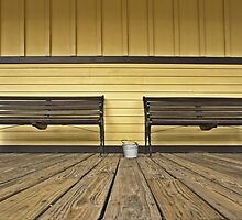 Two benches by cclaude