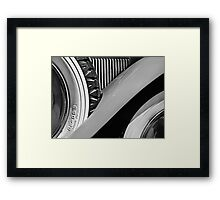 Fender / Wheels Framed Print