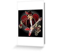 Tom Petty Portrait Greeting Card