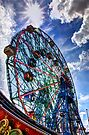 WonderWheel by njordphoto