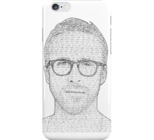 Hey Girl - Black and White iPhone Case/Skin