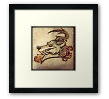 Faehound Framed Print