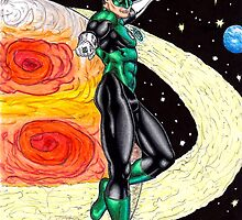 Emerald Space Cop by KevennTSmith