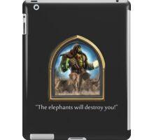 Hearthstone - Thrall Elephants Emote iPad Case/Skin