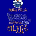 Edmonton Oilers House Rules by Laura-Lise Wong