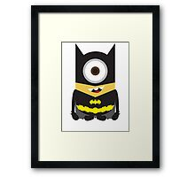 Dark Knight Minion Framed Print