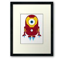 Ironman Minion Framed Print