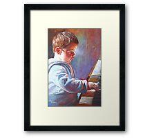 My Little Mozart Framed Print