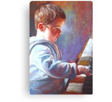 My Little Mozart Canvas Print