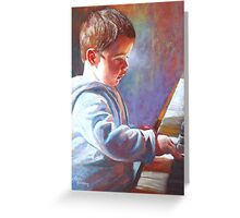 My Little Mozart Greeting Card
