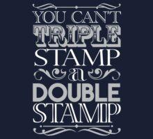 Triple Stamp Dark Kids Clothes