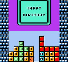 Happy Birthday (Tetris DX) by enthousiasme