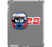 Jenson BUTTON_2014_Helmet iPad Case/Skin