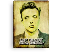 Ian Brady, Moors Murderer Canvas Print