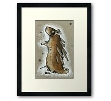 Feathered Rat Framed Print