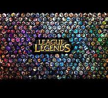 League of Legends by bananaclan