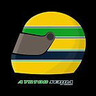 Ayrton Senna FOREVER… on my pillow... by Cirebox