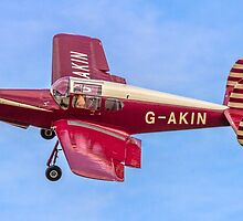 Miles M38 Messenger 2A G-AKIN by Colin Smedley