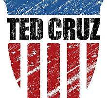 Ted Cruz Patriot Shield by morningdance