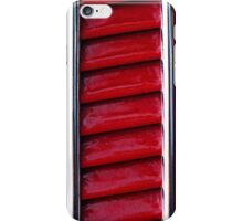Red Vents iPhone Case/Skin