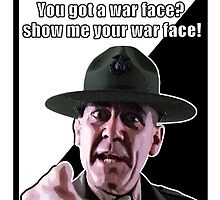Full Metal War Face by JoelCortez