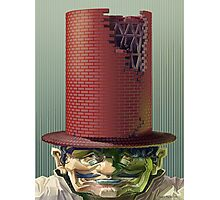 Hat Man Photographic Print