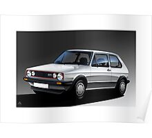Poster artwork - Golf GTI Campaign Poster