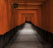 Fushimi Inari Path by Sam Ryan