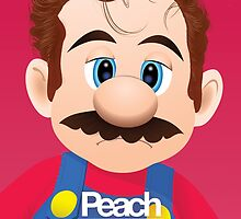 Peach - Mario Her movie poster shirt by lavalamp