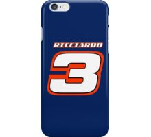 Damiel RICCIARDO _ Number 3_2014 iPhone Case/Skin