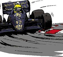 Ayrton SENNA_Lotus 98T by Cirebox