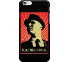 Resistance is Futile - Fringe Observer  iPhone Case/Skin