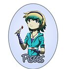 Anime Pisces by OddworldArt