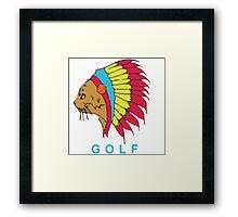 Golf Wang Native Cat Framed Print