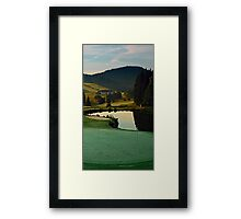 Summer morning at the golf club | landscape photography Framed Print