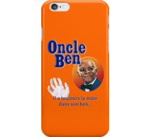 Oncle Ben (Uncle Ben's Parody) iPhone Case/Skin