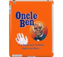 Oncle Ben (Uncle Ben's Parody) iPad Case/Skin