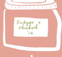 Badger Jam Sticker