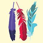 Indie Feathers by Minette Wasserman